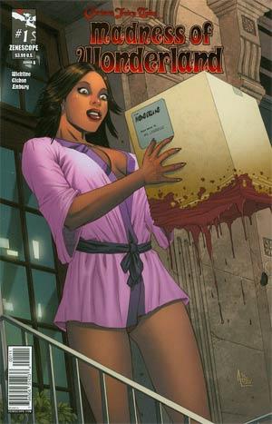 Grimm Fairy Tales Presents Madness Of Wonderland #1 Cover A Anthony Spay