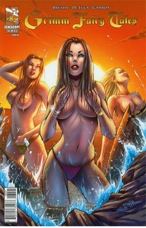 Grimm Fairy Tales #82 Cover B Giuseppe Cafaro