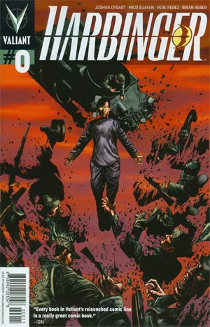 Harbinger Vol 2 #0 1st Ptg Regular Mico Suayan Cover