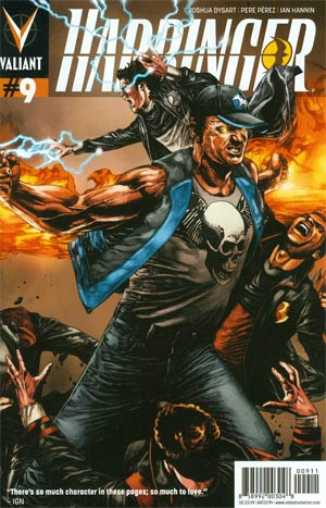 Harbinger Vol 2 #9 Regular Mico Suayan Cover