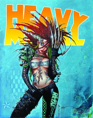 Heavy Metal #261 Feb 2013 Newsstand Edition Claw Cover