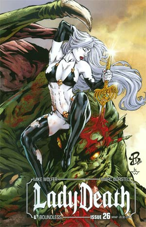 Lady Death Vol 3 #26 Cover B Wraparound Cover