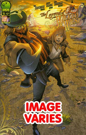 DO NOT USE Legend Of Oz The Wicked West Vol 2 #5 (Filled Randomly With 1 Of 2 Covers)