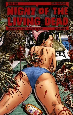 Night Of The Living Dead Aftermath #1 Tasty Cvr
