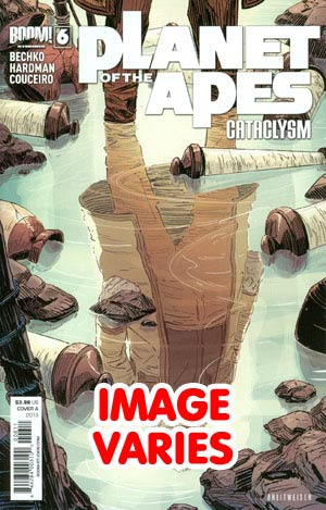 Planet Of The Apes Cataclysm #6 Regular Cover (Filled Randomly With 1 Of 2 Covers)