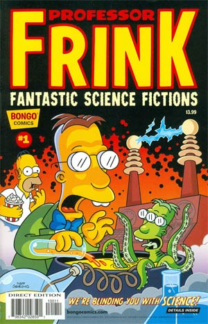 Professor Frinks Fantastic Science Fictions #1