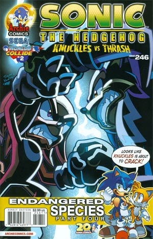 Sonic The Hedgehog Vol 2 #246