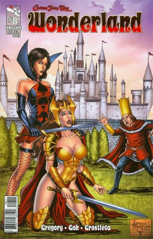 Grimm Fairy Tales Presents Wonderland Vol 2 #8 Cover A Alfredo Reyes