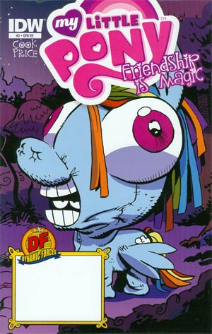 My Little Pony Friendship Is Magic #3 DF Exclusive Variant Cover