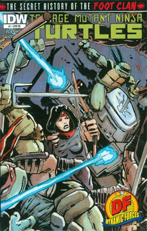 Teenage Mutant Ninja Turtles Secret History Of The Foot Clan #1 DF Exclusive Kevin Eastman Variant Cover