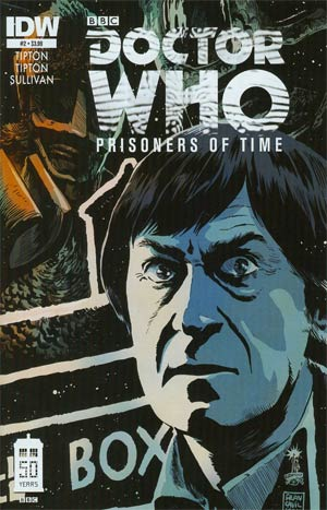 Doctor Who Prisoners Of Time #2 1st Ptg Regular Francesco Francavilla Cover