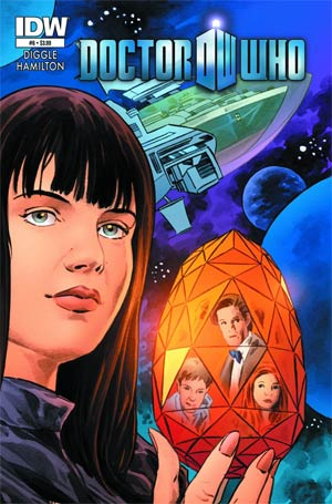 Doctor Who Vol 5 #6 Cover A Regular Mark Buckingham Cover