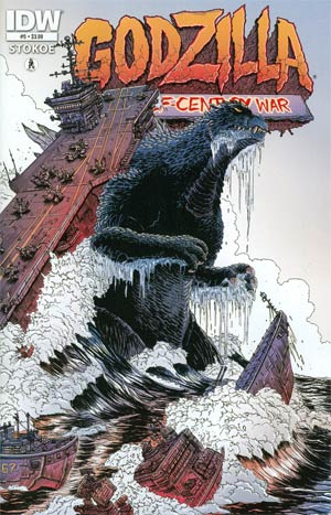 Godzilla Half-Century War #5 Regular James Stokoe Cover
