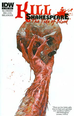 Kill Shakespeare Tide Of Blood #1 Regular Simon Davis Cover