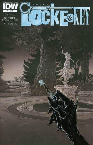 Locke & Key Omega #3 Regular Gabriel Rodriguez Cover