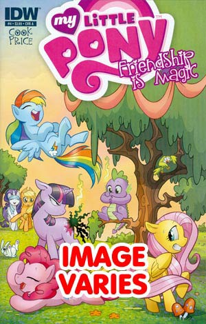 My Little Pony Friendship Is Magic #4 Regular Cover (Filled Randomly With 1 Of 2 Covers)