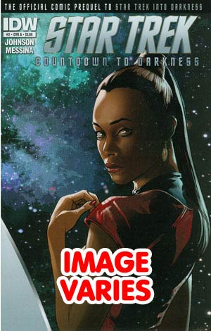 Star Trek Countdown To Darkness #2 Regular Cover (Filled Randomly With 1 Of 2 Covers)