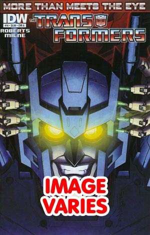 DO NOT USE Transformers More Than Meets The Eye #14 Regular Cover (Filled Randomly With 1 Of 2 Covers)
