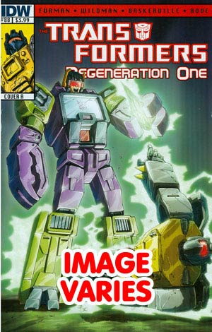 DO NOT USE (DUPLICATE LISTING) Transformers Regeneration One #88 Regular Cover (Filled Randomly With 1 Of 2 Covers)