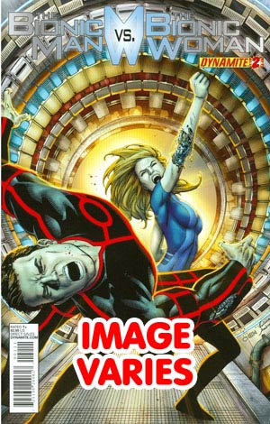 Bionic Man vs Bionic Woman #2 Regular Cover (Filled Randomly With 1 Of 2 Covers)