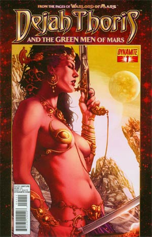 Dejah Thoris And The Green Men Of Mars #1 Regular Jay Anacleto Cover