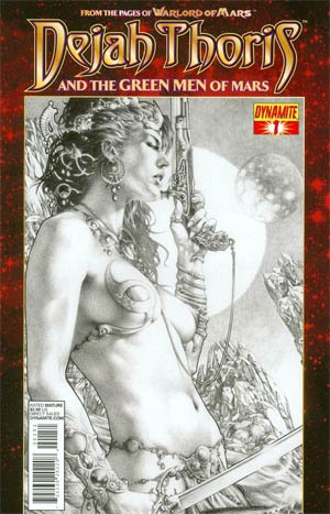 Dejah Thoris And The Green Men Of Mars #1 Variant Exclusive Subscription Cover