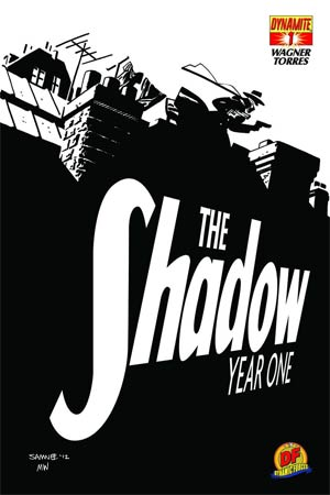 Shadow Year One #1 DF Exclusive Chris Samnee Black & White Cover