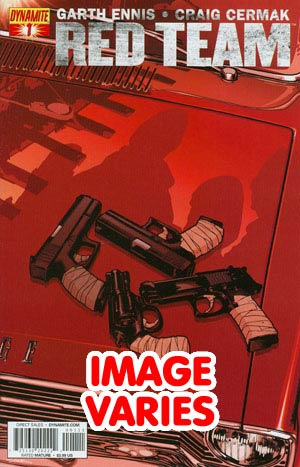 Garth Ennis Red Team #1 Regular Cover (Filled Randomly With 1 Of 2 Covers)