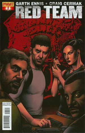 Garth Ennis Red Team #1 Variant Exclusive Subscription Cover