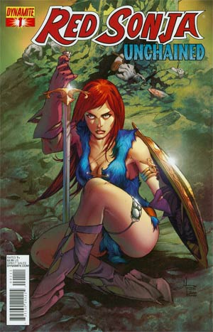 Red Sonja Unchained #1 Regular Mel Rubi Cover