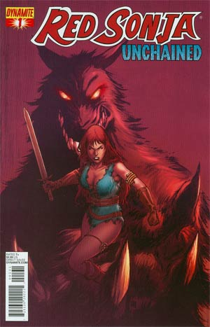Red Sonja Unchained #1 Variant Exclusive Subscription Cover