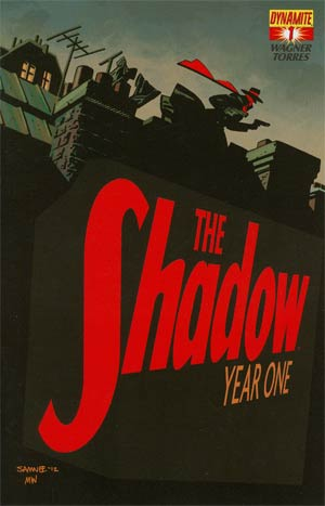 Shadow Year One #1 Regular Cover C Chris Samnee