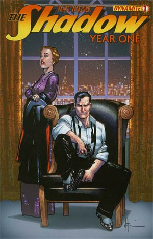 Shadow Year One #1 Regular Cover D Howard Chaykin