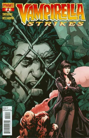 Vampirella Strikes Vol 2 #2 Regular Cover A Johnny Desjardins