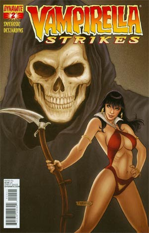 Vampirella Strikes Vol 2 #2 Regular Cover B Fabiano Neves