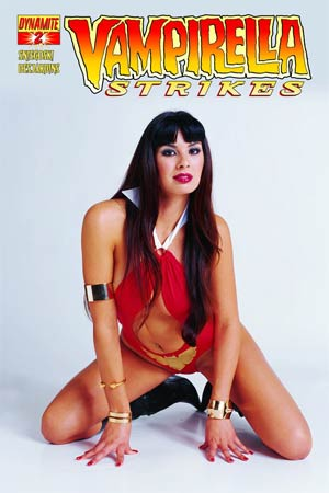Vampirella Strikes Vol 2 #2 Variant Subscription Photo Cover
