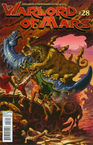 DO NOT USE (DUPLICATE LISTING) Warlord Of Mars #28 Regular Cover (Filled Randomly With 1 Of 2 Covers)