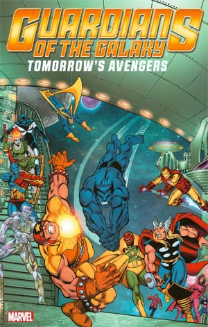 Guardians Of The Galaxy Tomorrows Avengers Vol 2 TP