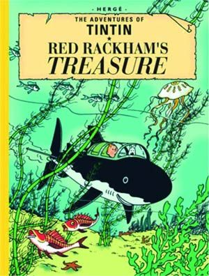 Tintin Collectors Giant Facsimile Edition Red Rackhams Treasure HC