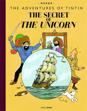 Tintin Collectors Giant Facsimile Edition Secret Of The Unicorn HC