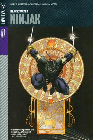 Valiant Masters Ninjak Vol 1 Black Water HC