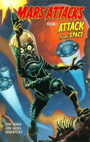 Mars Attacks Vol 1 Attack From Space TP