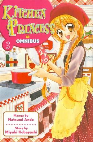 Kitchen Princess Omnibus Vol 3 GN