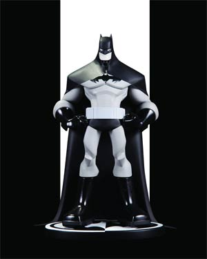 Batman Black & White Series Original Mini Statue By Sean Galloway