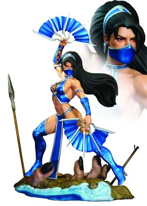 Mortal Kombat Kitana 1/4 Scale Statue