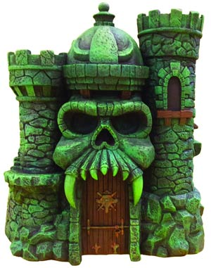 Masters Of The Universe Castle Grayskull Statue