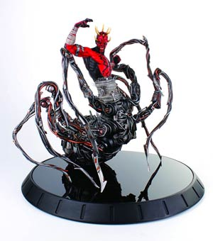 Star Wars Darth Maul Spider Statue