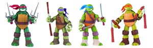 Teenage Mutant Ninja Turtles Battle Shell 11-Inch Action Figure Assortment Case
