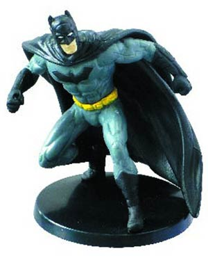Batman In Action 2.75 Inch PVC Figurine - Batman Defending