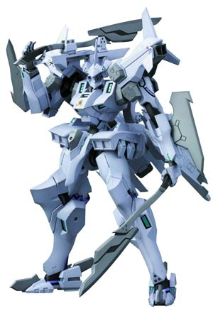 Muv-Luv Alternative EF-2000 Typhoon Cerebus Battalion Type Plastic Model Kit
